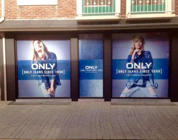 Gevelreclame: ONLY