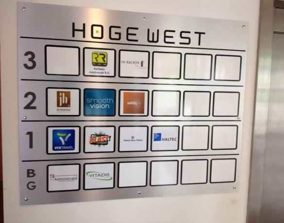 Reclamebord: Hoge West