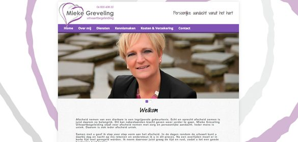 Website mieke greveling