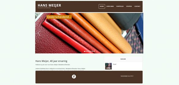 Website hans meijer